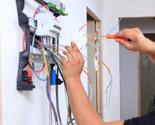 замена электрощита в доме