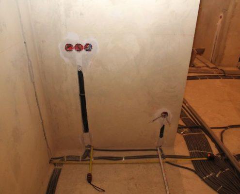 ремонт электропроводки в коттедже