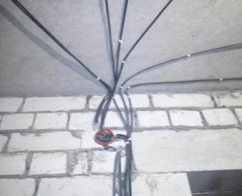 неправильная прокладка электрики