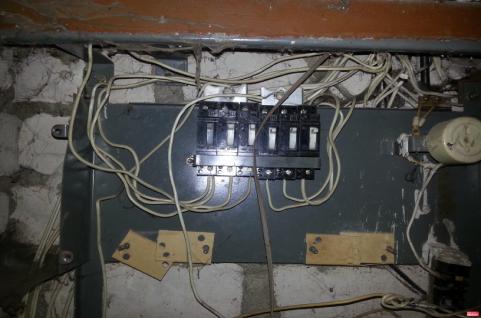 замена старой проводки