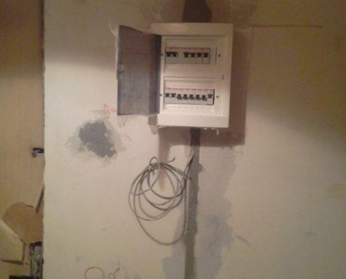 подготовка электрощита к работе